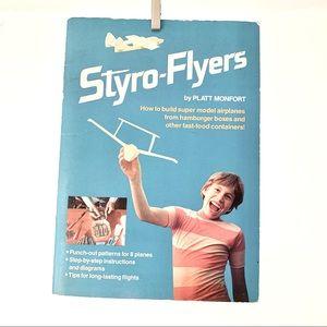 Vintage Styrofoam-Flyers activity book